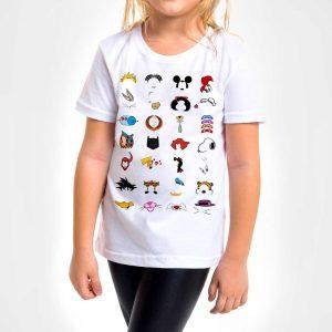Camisa Infantil – Cartoons