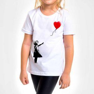 Camisa Infantil – Balloon Girl