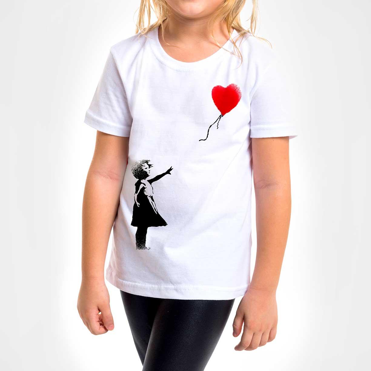 Camisa Infantil - Balloon Girl