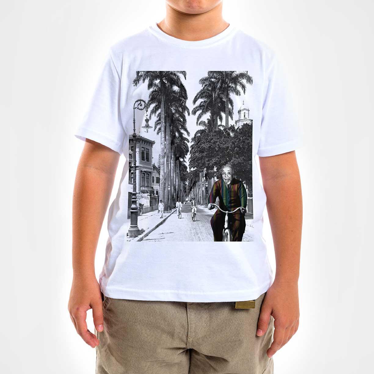 Camisa Infantil - Einstein