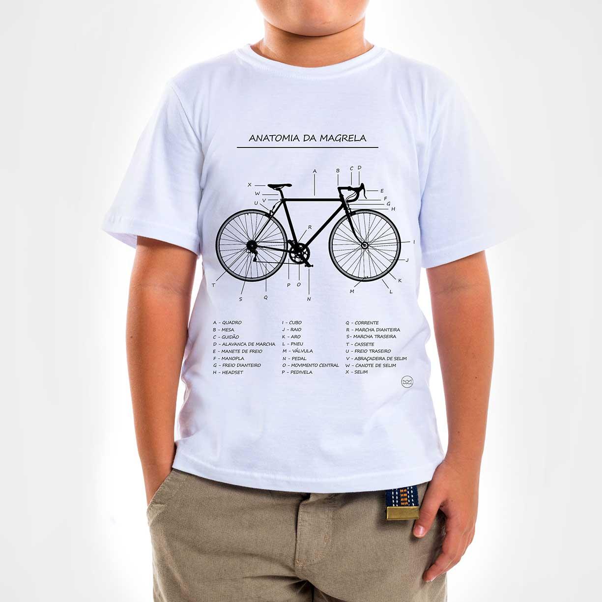 Camisa Infantil - Anatomia da Magrela