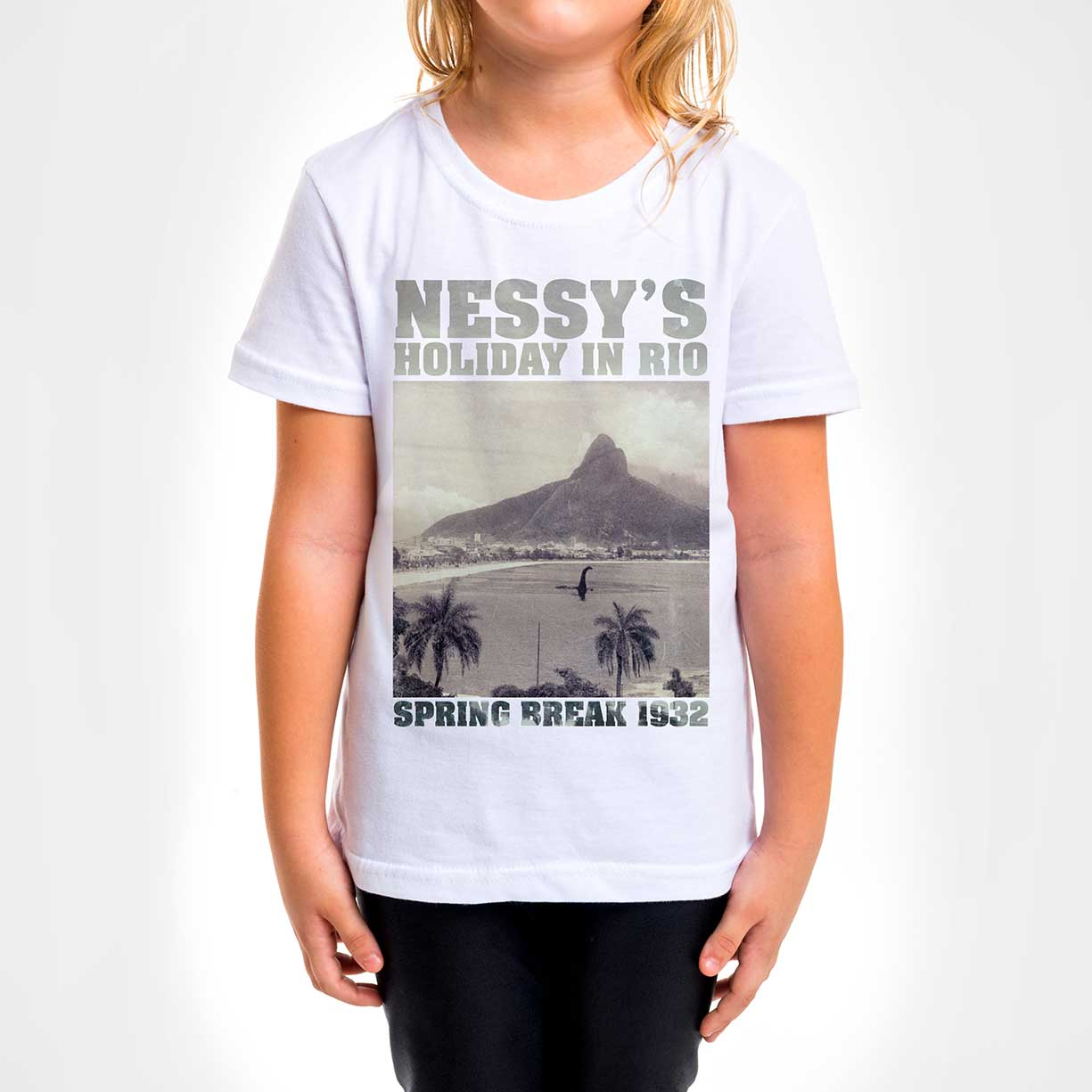 Camisa Infantil - Nessy´s Holiday in Rio
