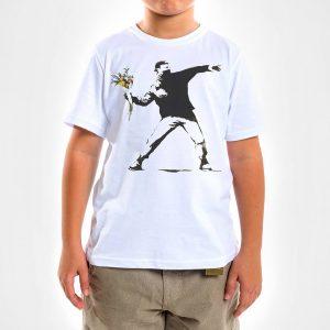 Camisa Infantil – Flower Thrower