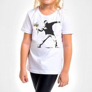 Camisa Infantil – Flower Thrower
