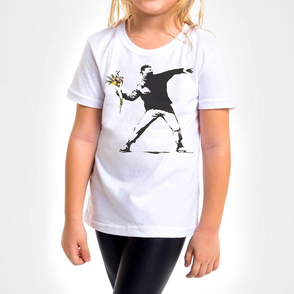 Camisa Infantil - Flower Thrower