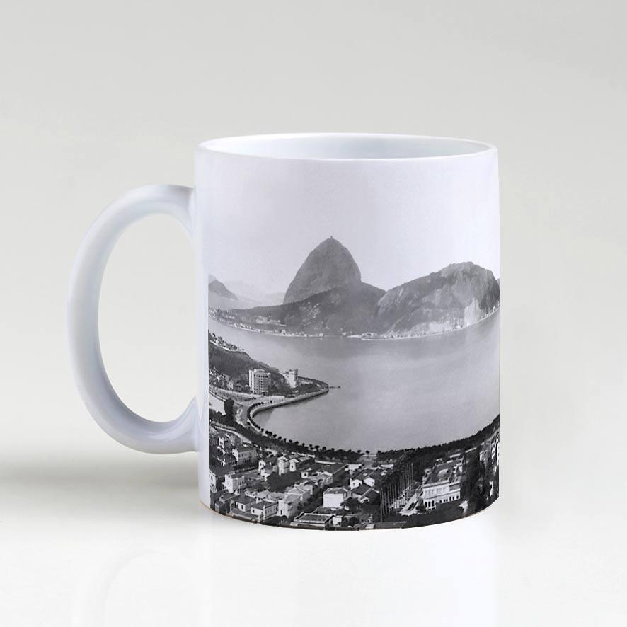 Caneca - Enseada de Botafogo - Ano 1930
