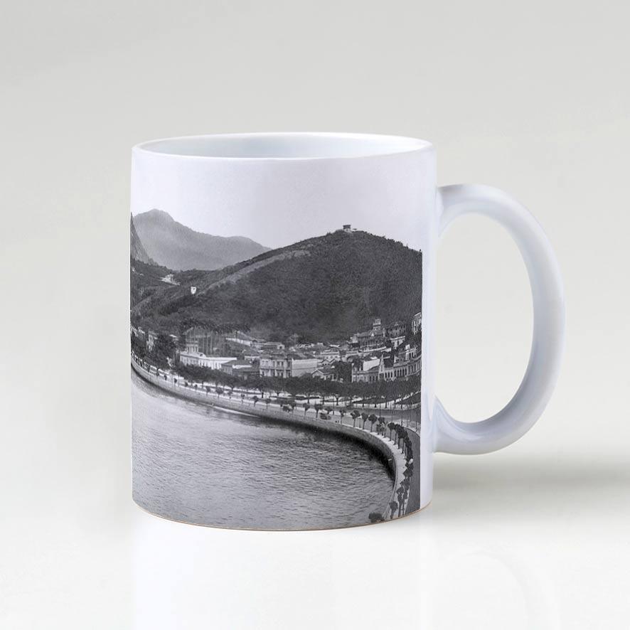 Caneca - Enseada de Botafogo - Ano 1920 - 2