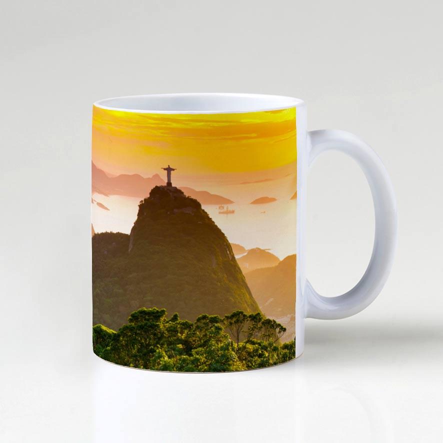 Caneca - Floresta da Tijuca, Cristo e Pão de Açúcar