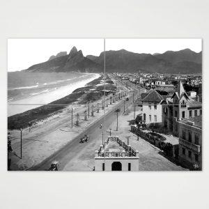 Painel Modular – Praias de Ipanema e Leblon – Ano 1929