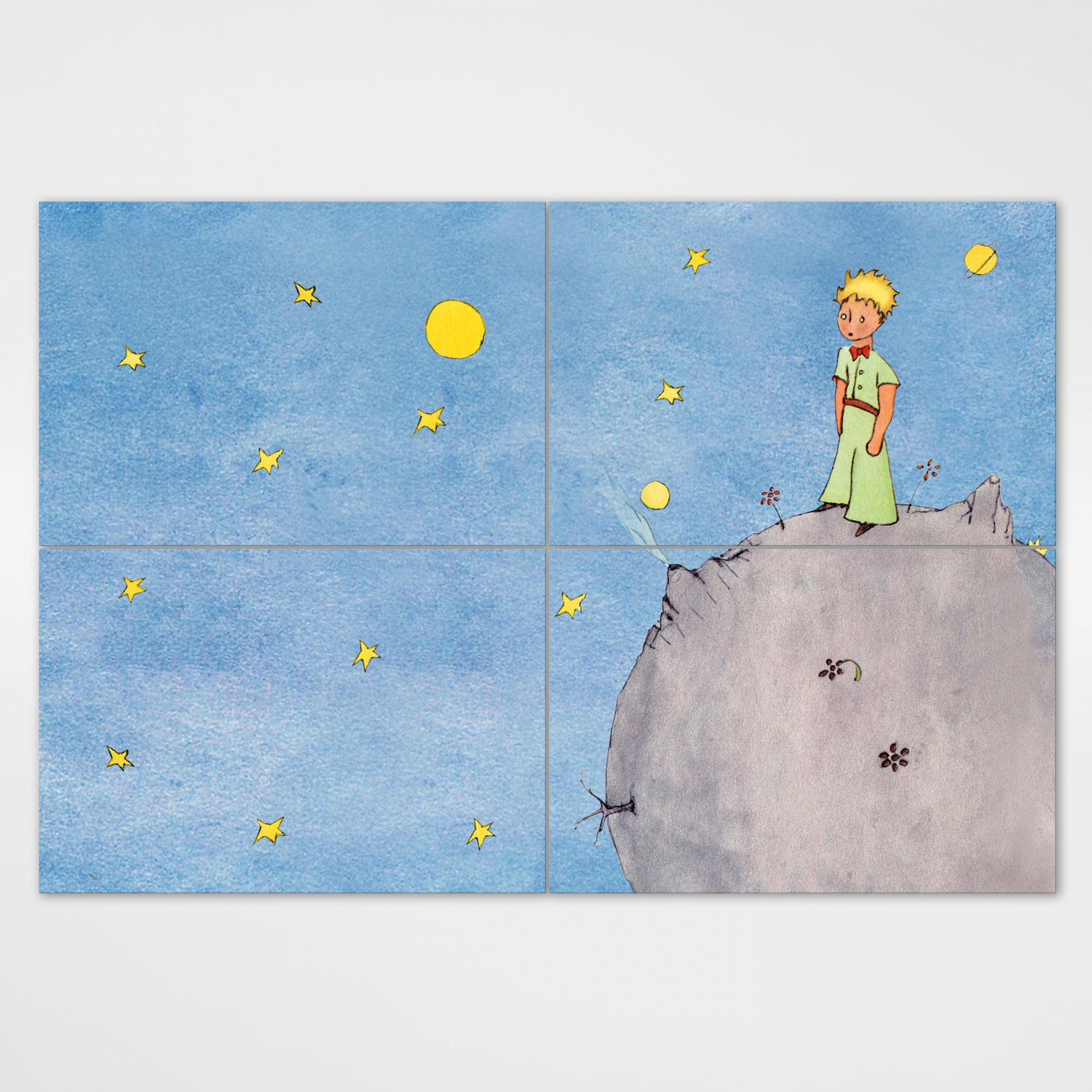 Painel Moduar - O Principezinho Sobre o Asteroide B612