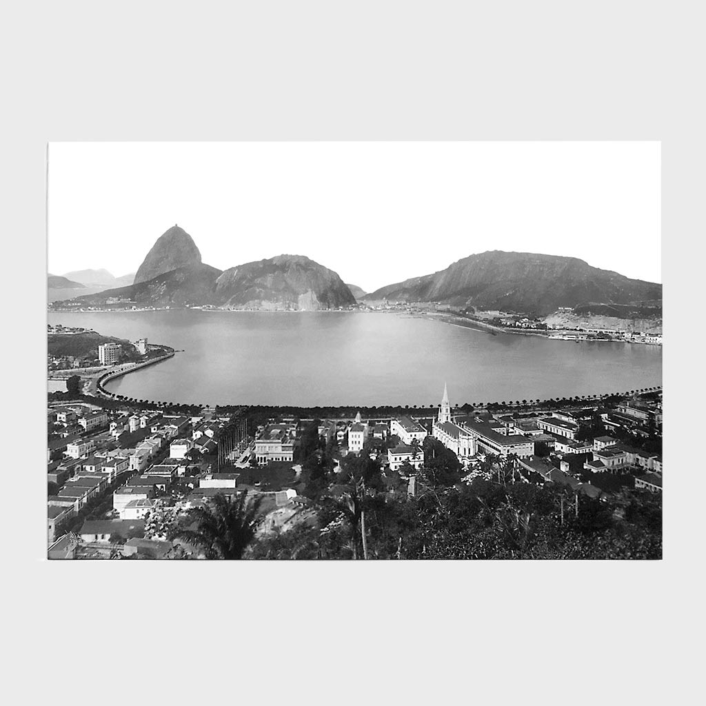 Painel - Enseada de Botafogo - Ano 1930