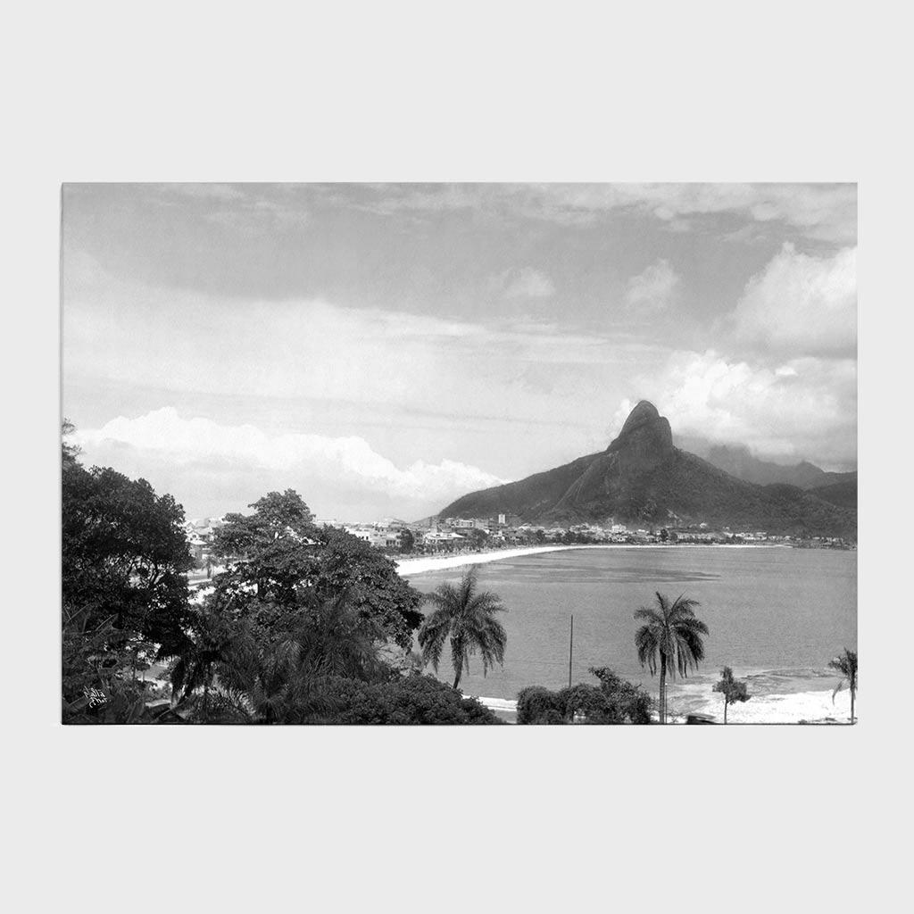 Jogo Americano - Lagoa Rodrigo de Freitas -  Ano 1937