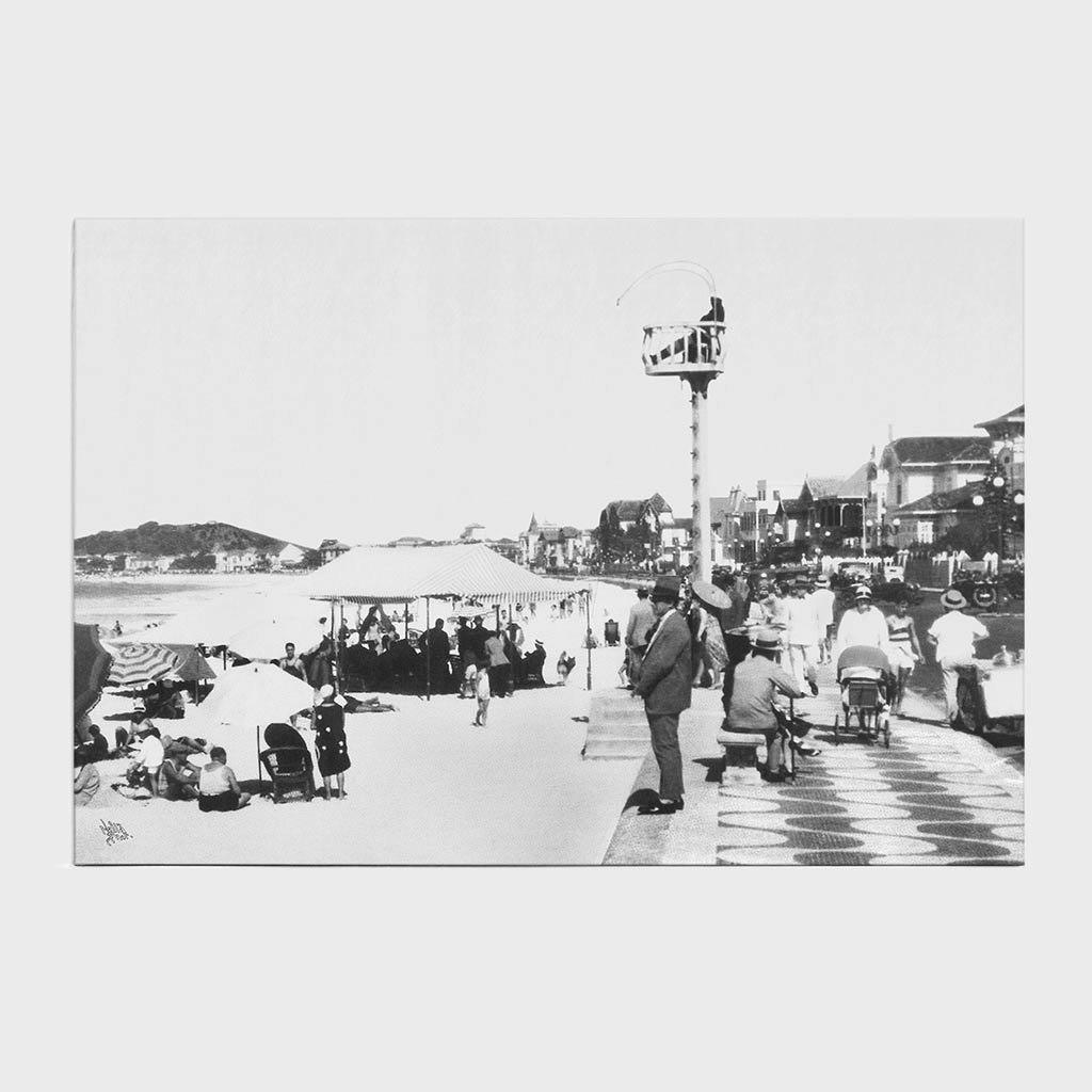 Jogo Americano - Avenida Atlântica - Ano 1929