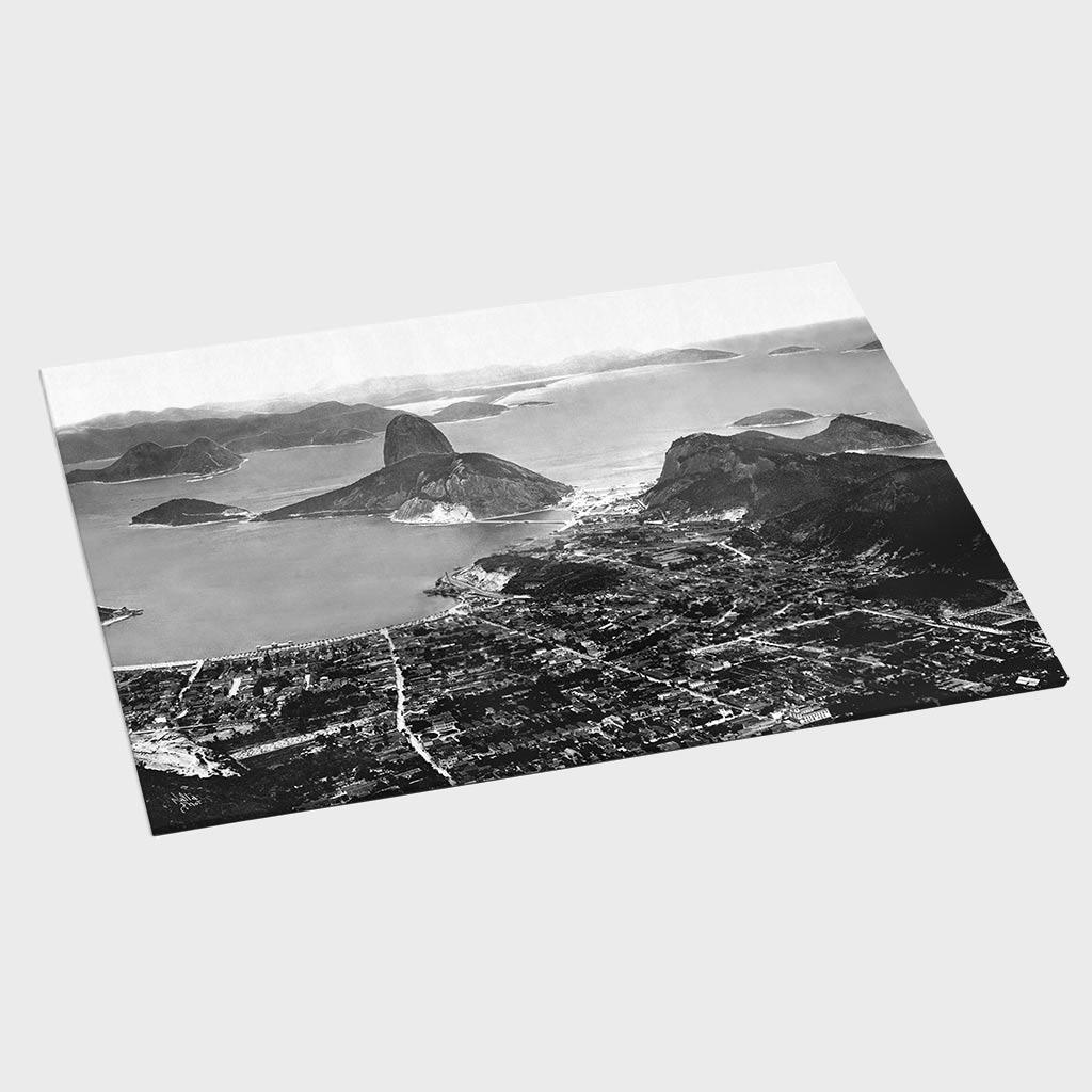 Jogo Americano - Vista do Corcovado - Ano 1908