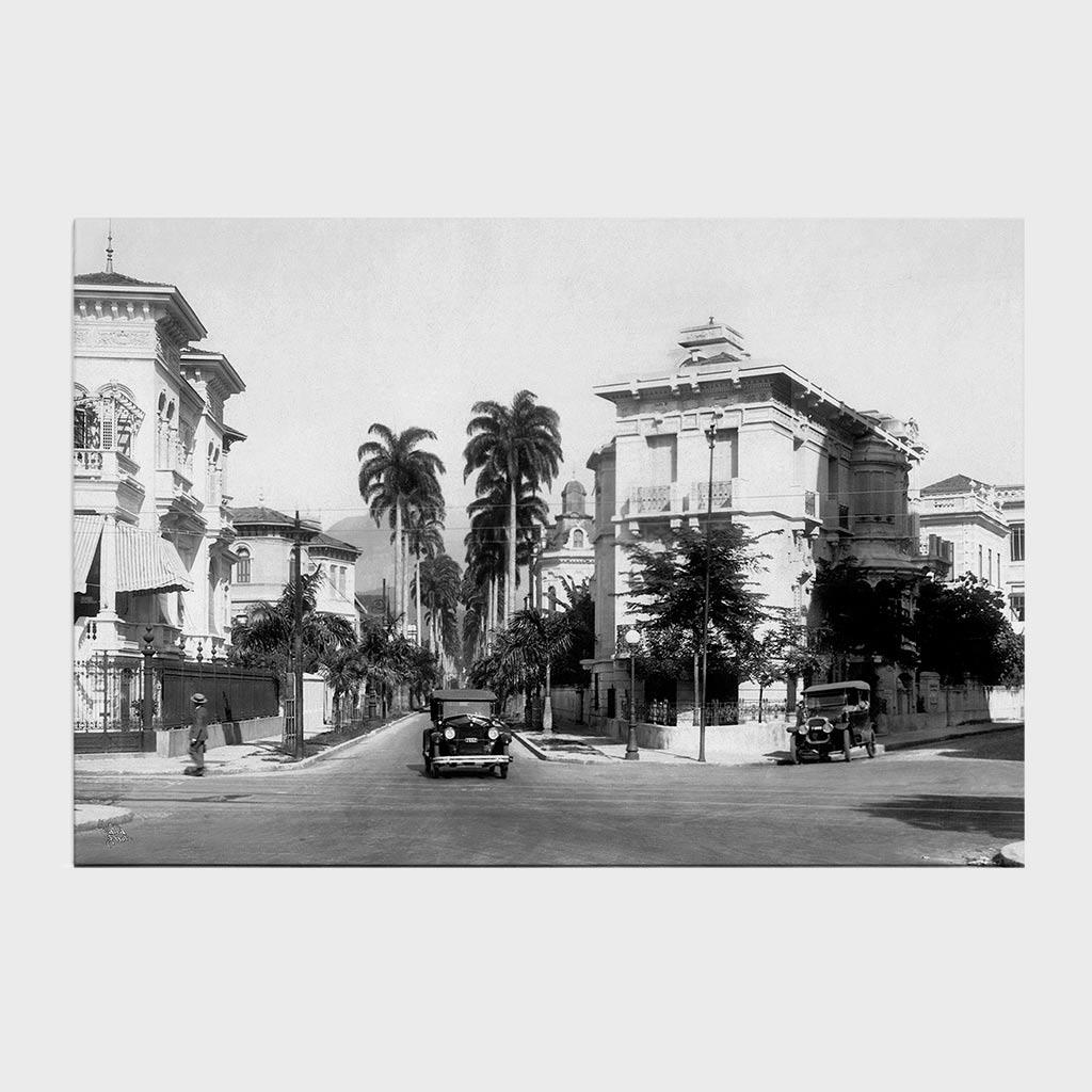 Jogo Americano - Rua Paissandu - Ano 1932