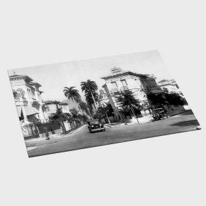 Jogo Americano – Rua Paissandu – Ano 1932