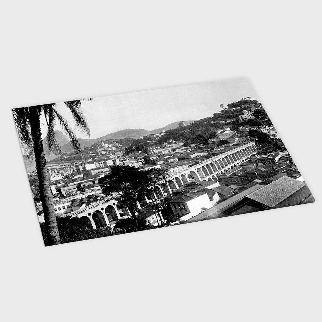 Jogo Americano - Arcos da Lapa - Ano 1912
