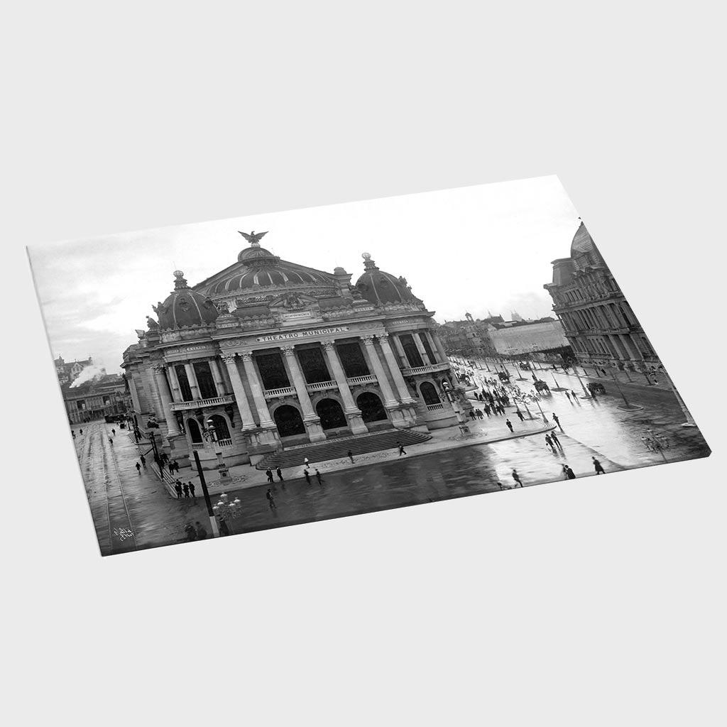 Jogo Americano - Teatro Municipal - Ano 1909