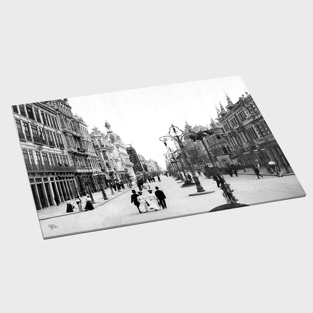 Jogo Americano - Avenida Central - Ano 1905