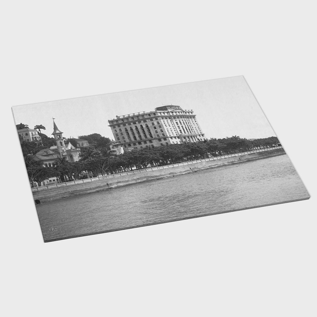 Jogo Americano - Hotel Gloria e Praia do Flamengo - Ano 1928
