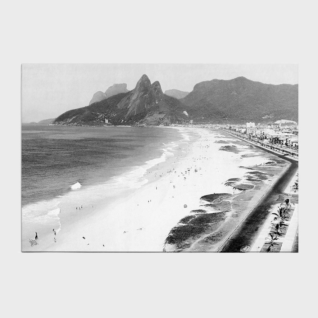 Jogo Americano - Praia de Ipanema e Leblon - Ano 1935