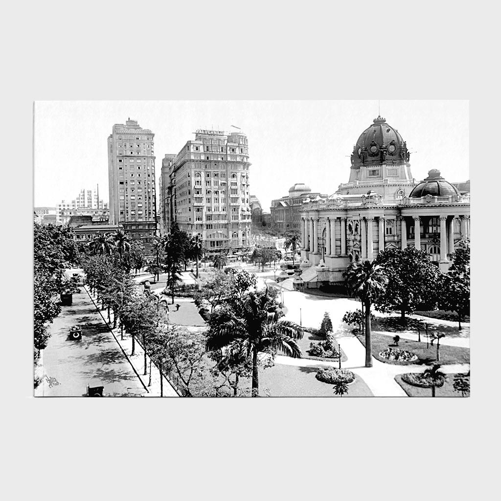 Jogo Americano - Palácio Monroe - Ano 1908