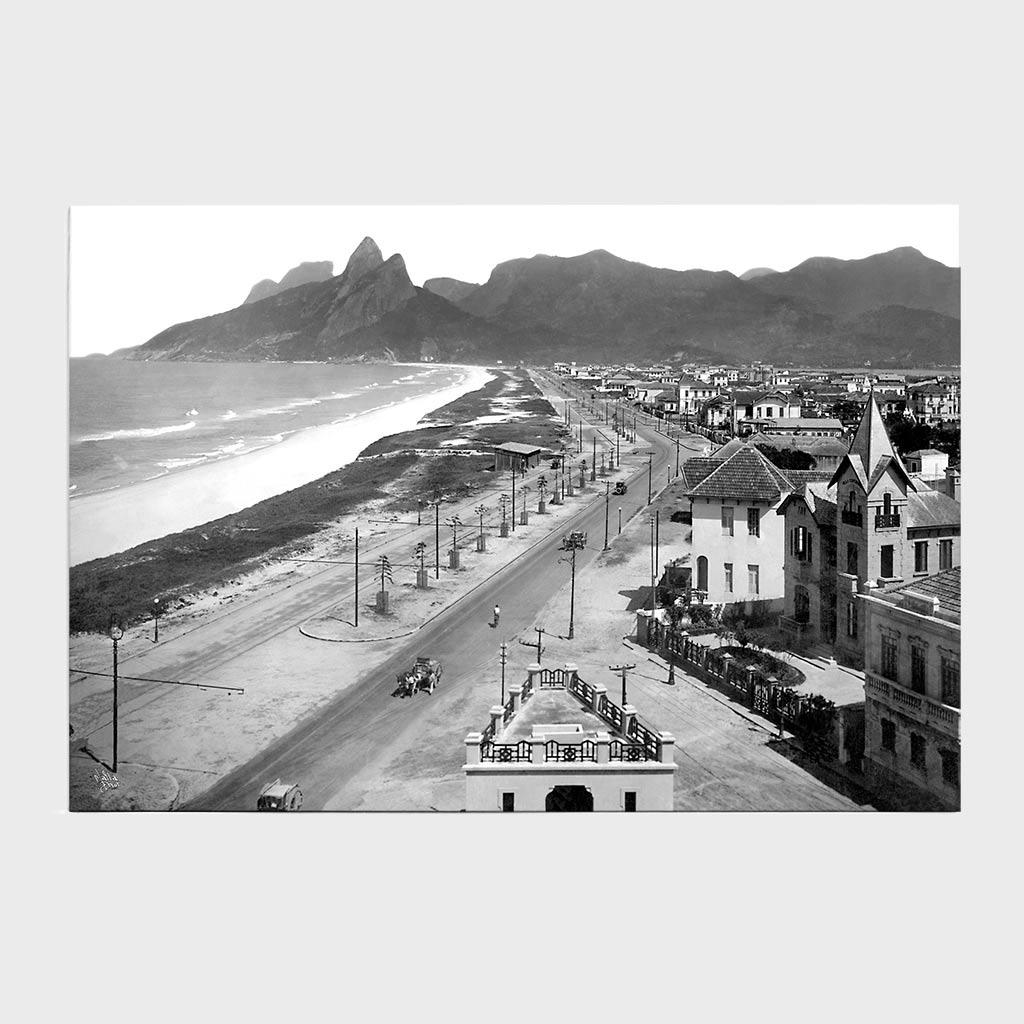Jogo Americano - Praias de Ipanema e Leblon - Ano 1929