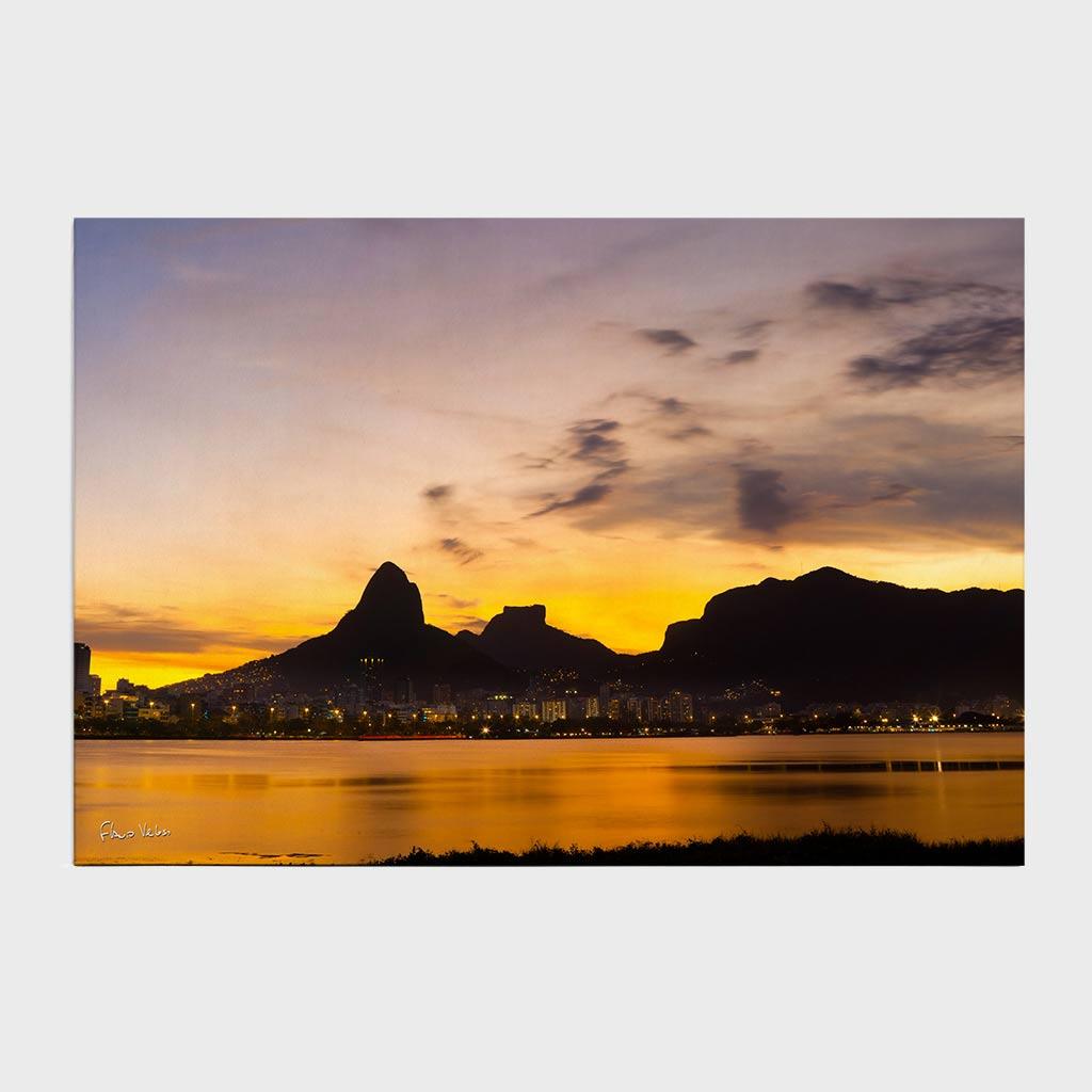 Jogo Americano - Lagoa Rodrigo de Freitas