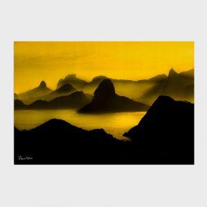 Painel – O Poente na Espinha de suas Montanhas, Rio de Janeiro