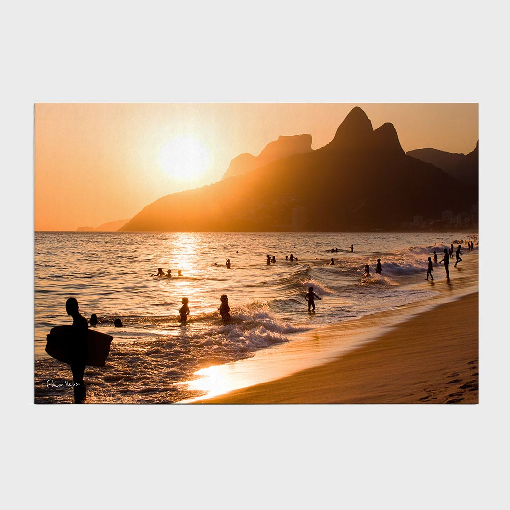 Jogo Americano - Morro Dois Irmãos, Pedra da Gávea e Praia de Ipanema