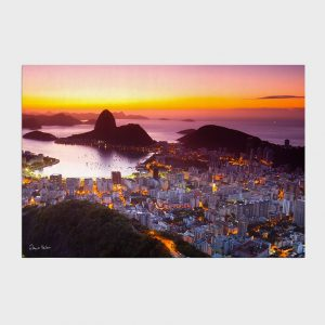 Painel – Amanhecer no Rio de Janeiro com Pão de Açúcar II