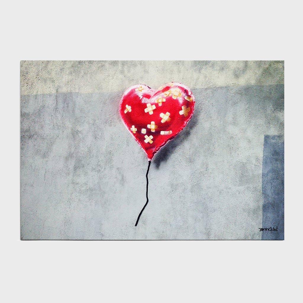 Jogo Americano - Broken Heart Balloon