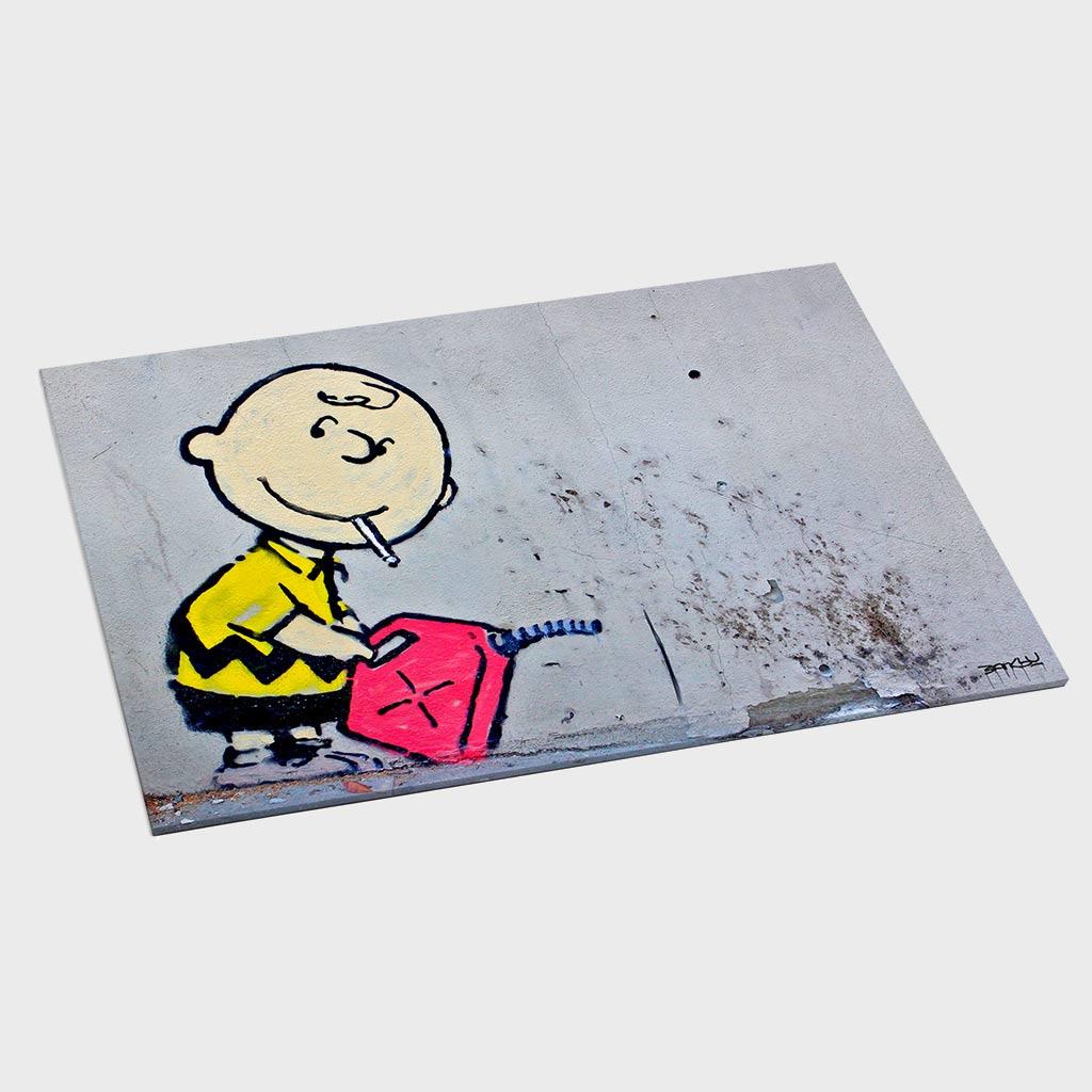 Jogo Americano - Charlie Brown Gasoline