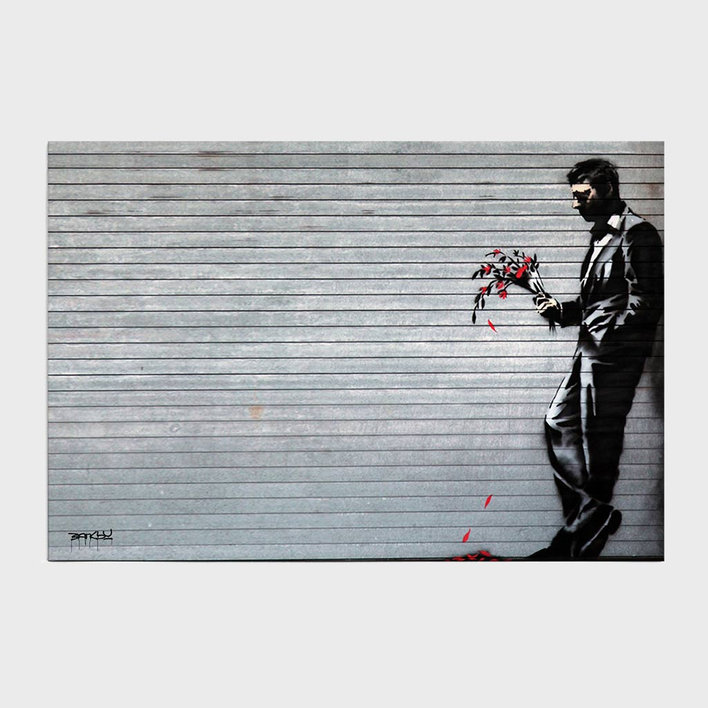 Jogo Americano - Man with Wilted Flowers