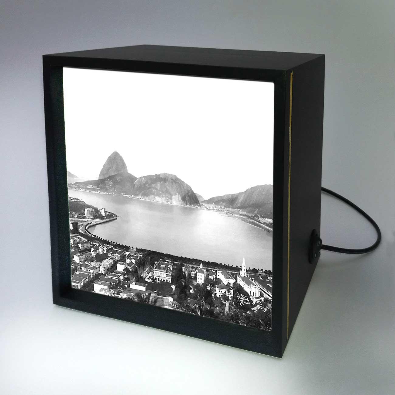 Backlight - Enseada de Botafogo - Ano 1930