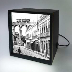 Backlight – Rua do Riachuelo com Arcos da Lapa – Ano 1912