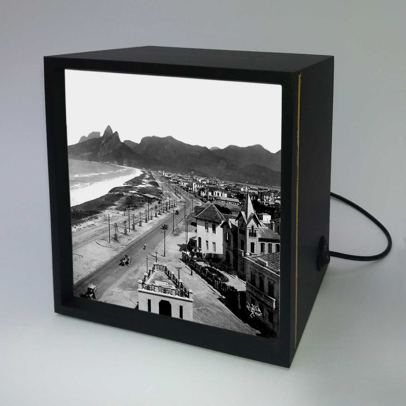 Backlight - Praias de Ipanema e Leblon - Ano 1929