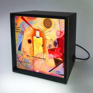 Backlight – Amarelo-Vermelho-Azul
