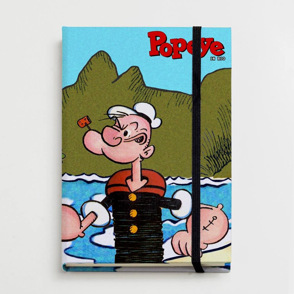 Moleskine - Popeye in Rio
