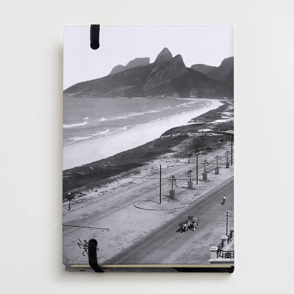 Moleskine - Praias de Ipanema e Leblon - Ano 1929