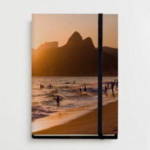 Moleskine – Morro Dois Irmãos, Pedra da Gávea e Praia de Ipanema