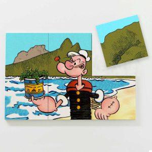Porta Copo Magnético Modular – Popeye in Rio