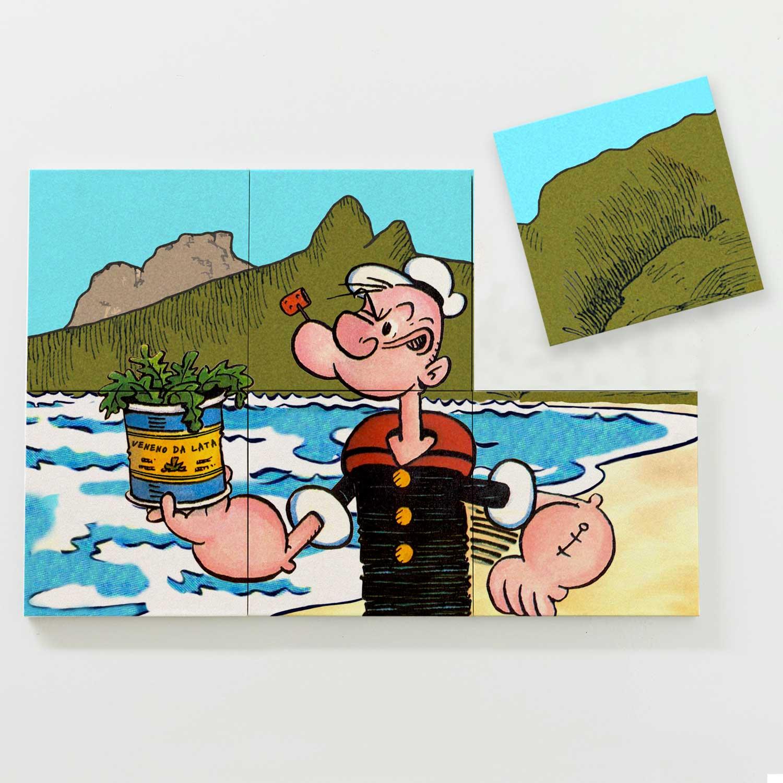 Porta Copo Magnético Modular - Popeye in Rio