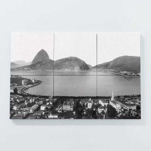 Porta Copo Magnético Modular – Enseada de Botafogo – Ano 1930