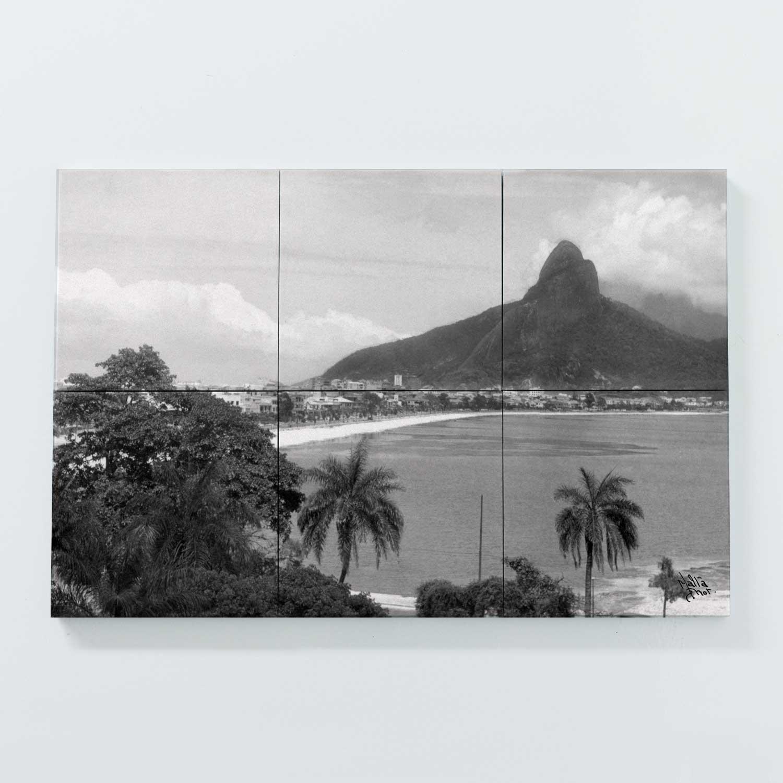 Porta Copo Magnético Modular - Lagoa Rodrigo de Freitas -  Ano 1937