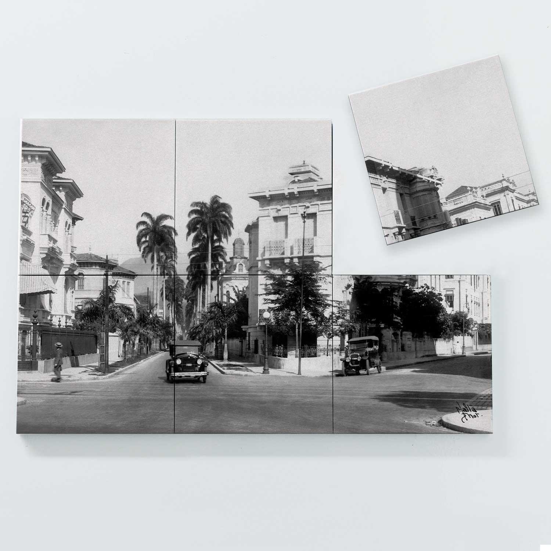 Porta Copo Magnético Modular - Rua Paissandu - Ano 1932
