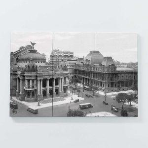 Porta Copo Magnético Modular – Teatro Municipal e Museu de Belas Artes – Ano 1930