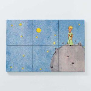 Porta Copo Magnético Modular – O Principezinho Sobre o Asteroide B612