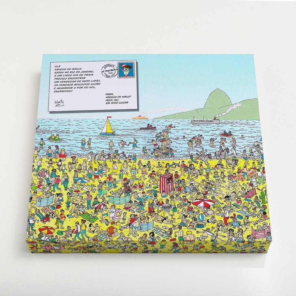 Quadro Quadrado - Wally in Rio