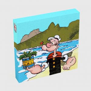 Quadro Quadrado – Popeye in Rio